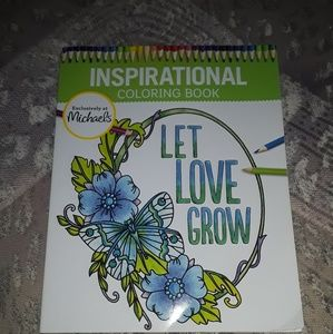 Brand new adult inspirational coloring book!